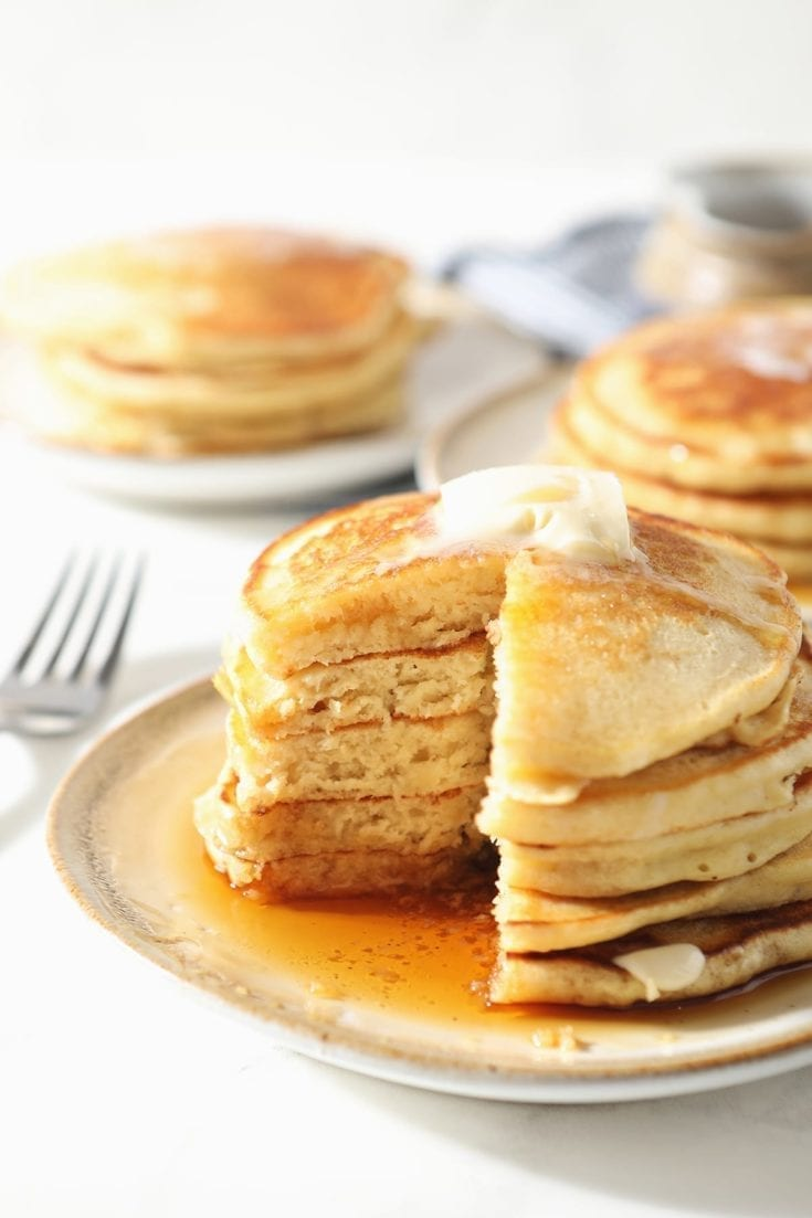 Old Fashioned Pancake Recipe Easy Fluffy Homemade Pancakes